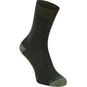 Craghoppers NosiLife Socks Women Twin Pack Parka Green/Dry Grass